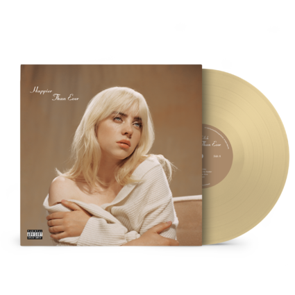 Billie Eilish: 'Happier Than Ever' Exclusive Golden Yellow Vinyl