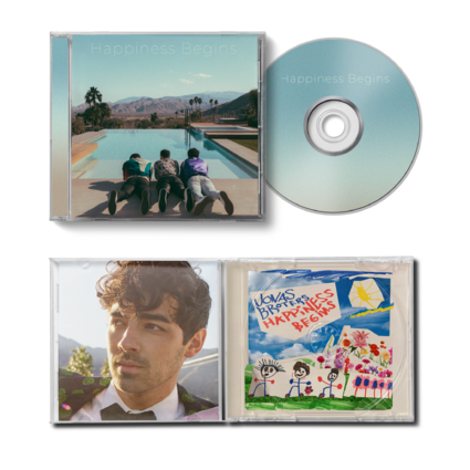 Jonas Brothers: Happiness Begins CD - Exclusive Joe Version