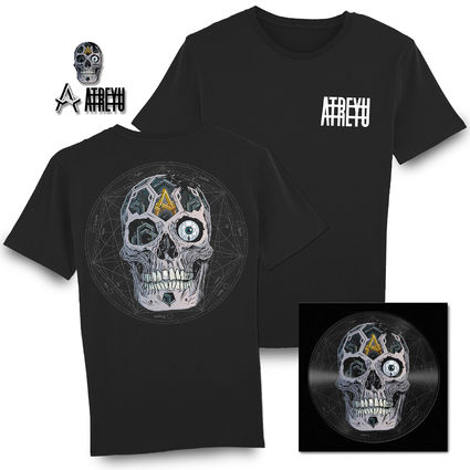 Atreyu: In Our Wake Picture Disc, T-Shirt & Badge Set Bundle