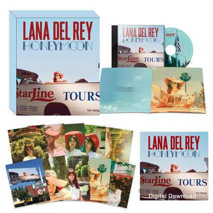 Lana Del Rey: Honeymoon - Deluxe Boxset