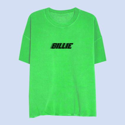 Billie Eilish: Billie Green Slime Sweatshirt Tee