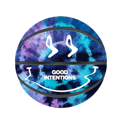 Nav: DISTORTED INTENTIONS TIE DYE BASKETBALL + DIGITAL ALBUM