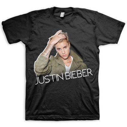 Justin Bieber: JB Profile Tee