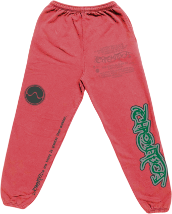 Lady Gaga: CHROMATICA PINK SWEATPANTS II