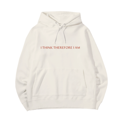Billie Eilish: I THINK THEREFORE I AM HOODIE