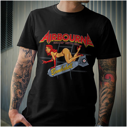 Airbourne: Bombshell Tee