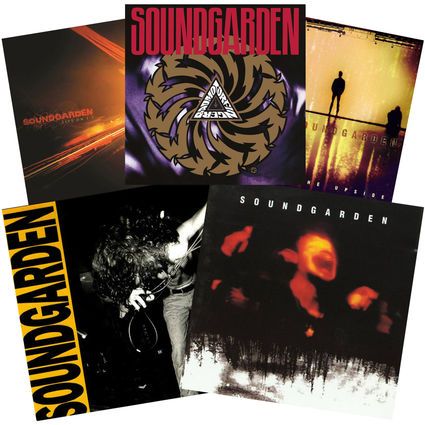 Soundgarden: 5 Classic Album Selection
