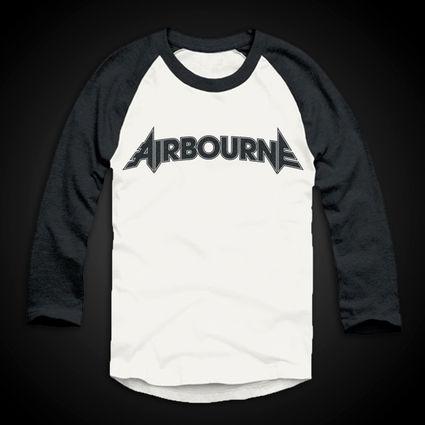 Airbourne: Airbourne Logo Baseball Shirt