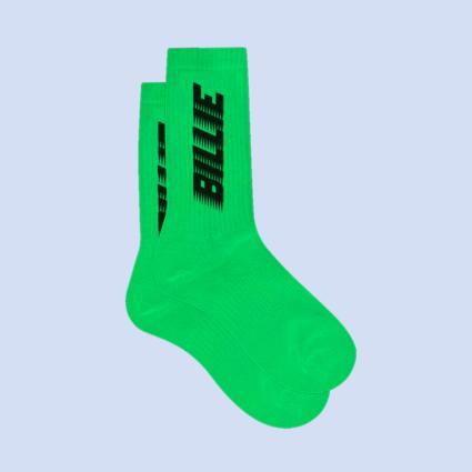 Billie Eilish: Billie Green Slime Socks