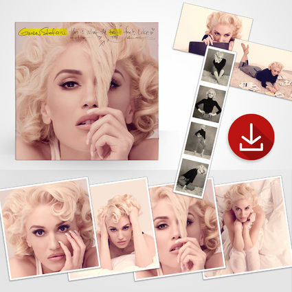 Gwen Stefani: This Is What The Truth Feels Like Deluxe Lithograph Set + MP3