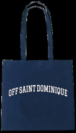 renforshort: off saint dominique navy tote