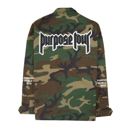 Justin Bieber: Purpose Tour Military Jacket