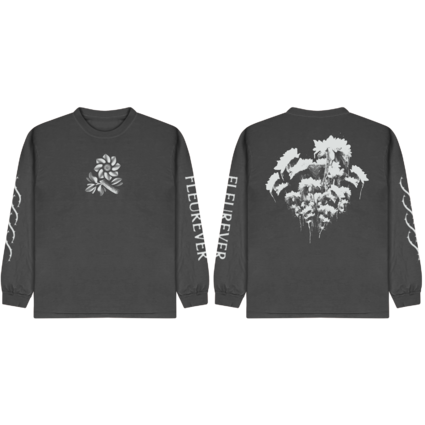 Jazz Cartier: Fleurever Charcoal L/S