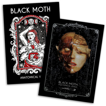 Black Moth: Black Moth Anatomical Venus Signed Poster Bundle