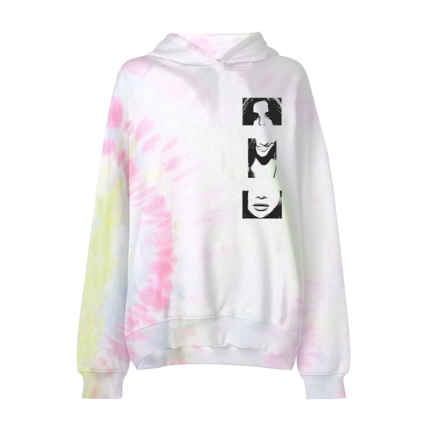 Selena Gomez : Lose You To Love Me Tie Dye Hoodie