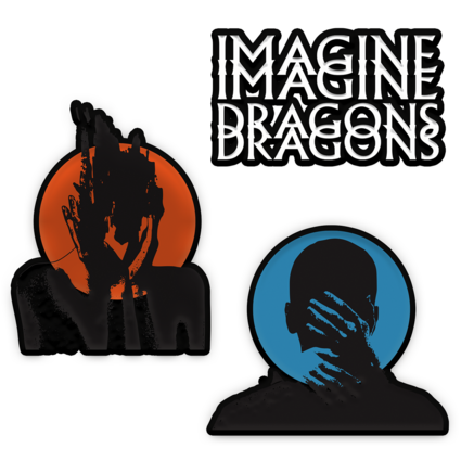 Imagine Dragons: Heart Attacks Patch Set