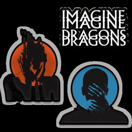Imagine Dragons: Heart Attacks Patch Set