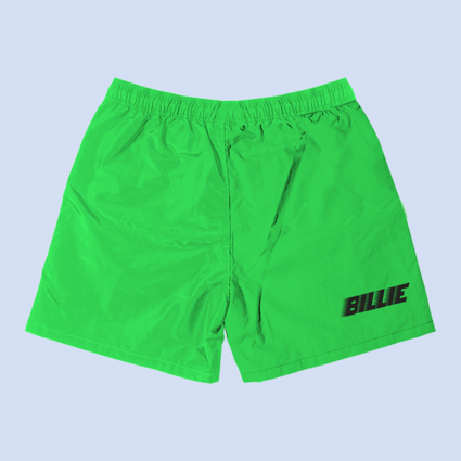 Billie Eilish: Billie Green Slime Sweatshorts