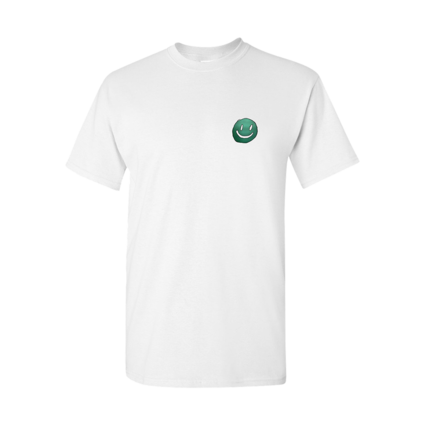 Mac DeMarco: White Smiley Face Logo T-Shirt
