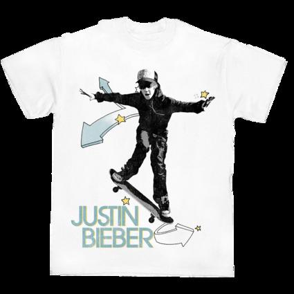 Justin Bieber: JB SKATE T-SHIRT