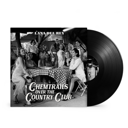 Lana Del Rey: Chemtrails Over the Country Club Black Vinyl