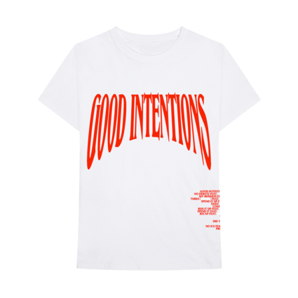 Nav: VLONE Good Intentions White Tee