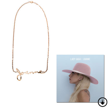 Lady Gaga: Joanne Necklace And Joanne Deluxe Digital Download