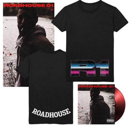 Allan Rayman: Roadhouse 01 Red LP + T-Shirt + Poster