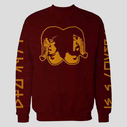 Death From Above 1979: DFA Logo Burgundy Crewneck