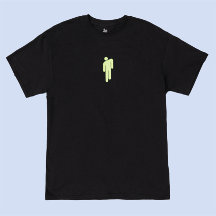 Billie Eilish: BE GLOW IN THE DARK LOGO TEE