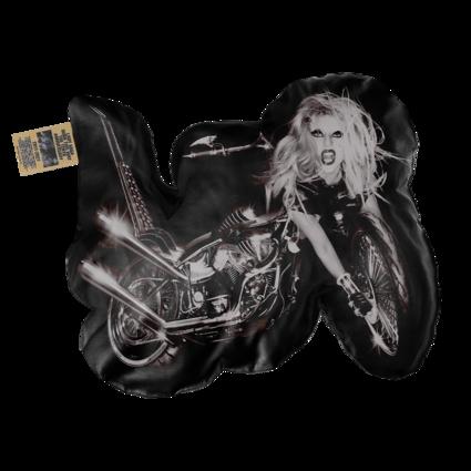 Lady Gaga: THE TENTH ANNIVERSARY BLACK PILLOW