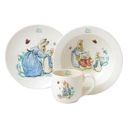 Peter Rabbit: Peter Rabbit 3 Piece Nursery Set