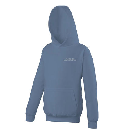 JP Cooper: Blue Pullover Hoodie (Manchester Skyline)