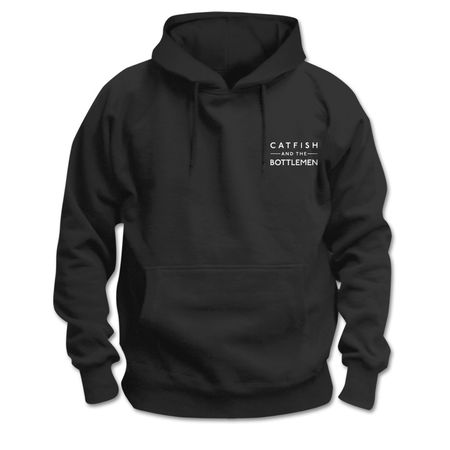 Catfish And The Bottlemen: Logo Pocket Hoodie