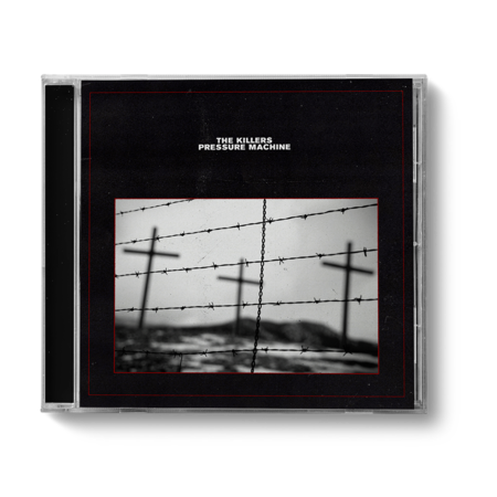 The Killers: PRESSURE MACHINE BLACK COVER CD