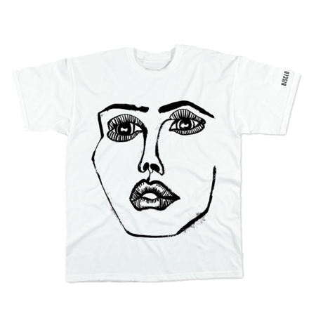 Disclosure: The Face: White + Black Tee
