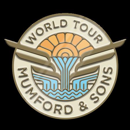 Mumford & Sons : Wings World Tour Pin