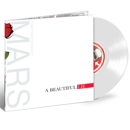 Thirty Seconds To Mars: A Beautiful Lie (White Sparkle Vinyl)