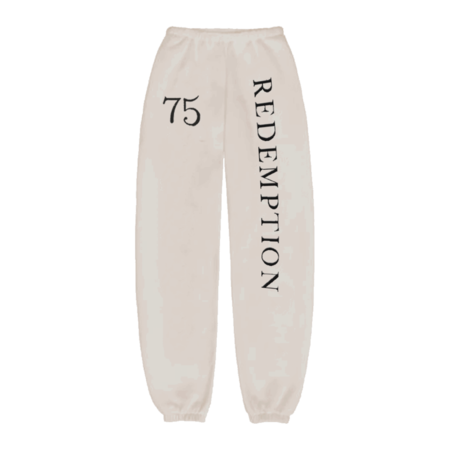 Bob Marley: Redemption 75 Puff Print Joggers