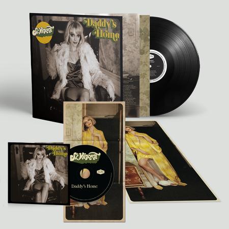 St. Vincent: Daddy's Home: Gatefold Black Vinyl LP, CD + Signed Print