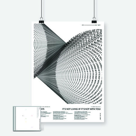 The 1975: Limited Edition ABIIOR A2 Art Print + CD Album