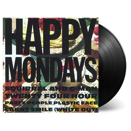 Happy Mondays: Squirrel And G-Man Twenty Four Hour Party People Plastic Face Carnt Smile (White Out): Deluxe Vinyl Reissue