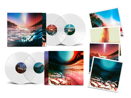 Bonobo: Fragments: Limited Deluxe Crystal Clear Vinyl 2LP + Signed Print