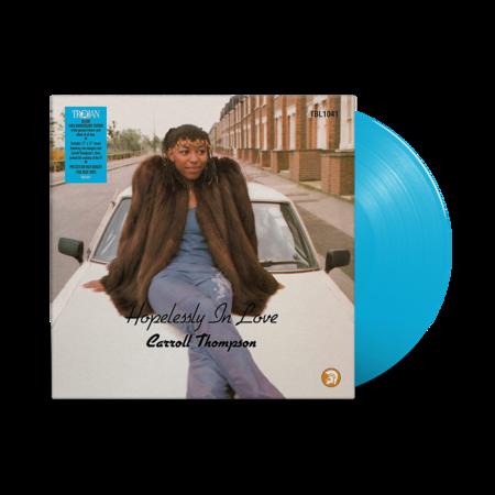Carroll Thompson : Hopelessly In Love 2021 Remaster: 40th Anniversary Edition Blue Vinyl LP