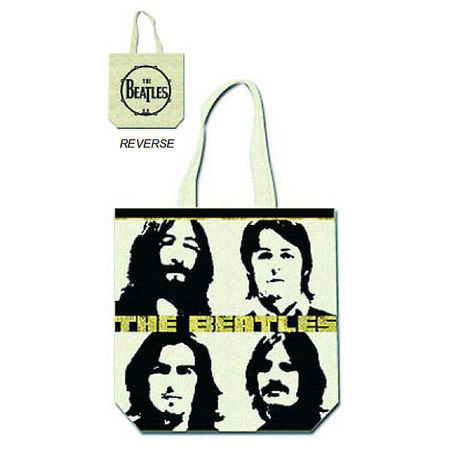 The Beatles: Four faces Tote Bag