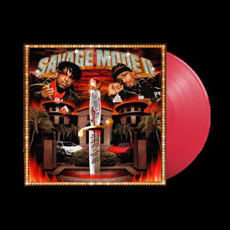 21 Savage: Savage Mode II: Limited Edition Red Vinyl