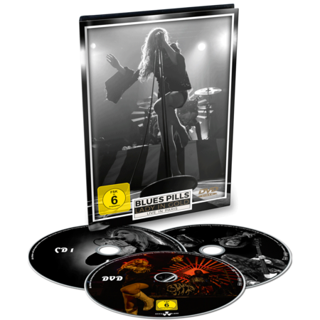 Blues Pills: Lady In Gold - Live In Paris: Ltd. Edition DVD/2CD Digibook