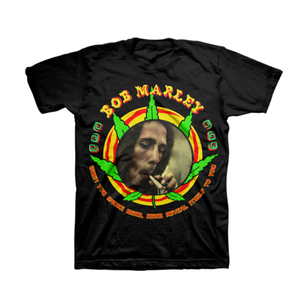 Bob Marley: HERB REVEAL ITSELF TO YOU T-SHIRT