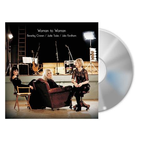 Judie Tzuke, Beverley Craven, Julia Fordham: Woman To Woman - Signed CD