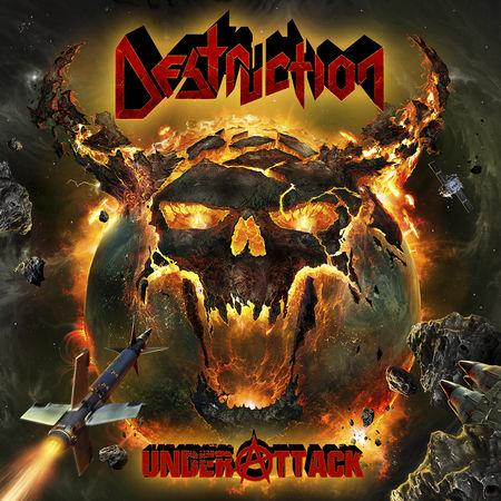 Destruction: Under Attack: Signed Gatefold Vinyl